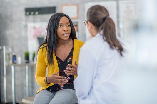 Patient Describing Symptoms
