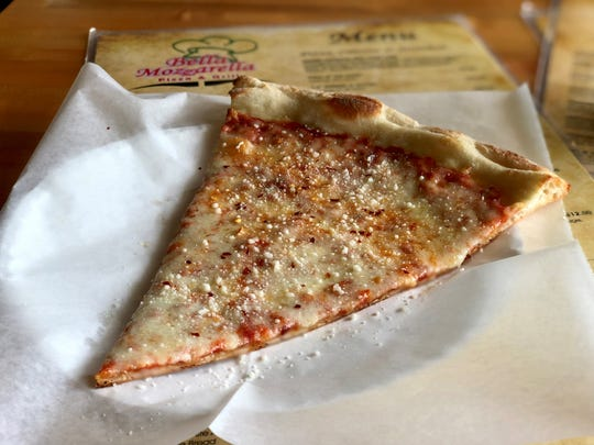 Bella Mozzarella offers slices and pasta dishes in Fort Myers Beach's Times Square.