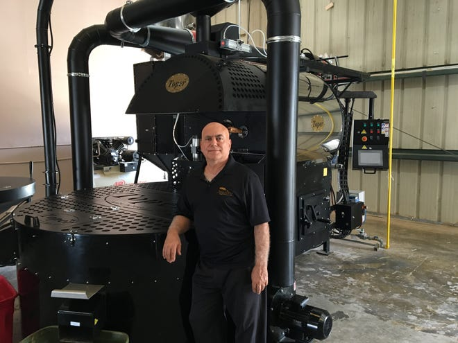 Tony Latassa, originally from Calabria, Italy, owns Java D'oro in Cape Coral.