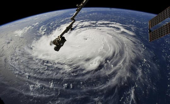 This year's Hurricane Florence will mark the fifth time the name has been used.