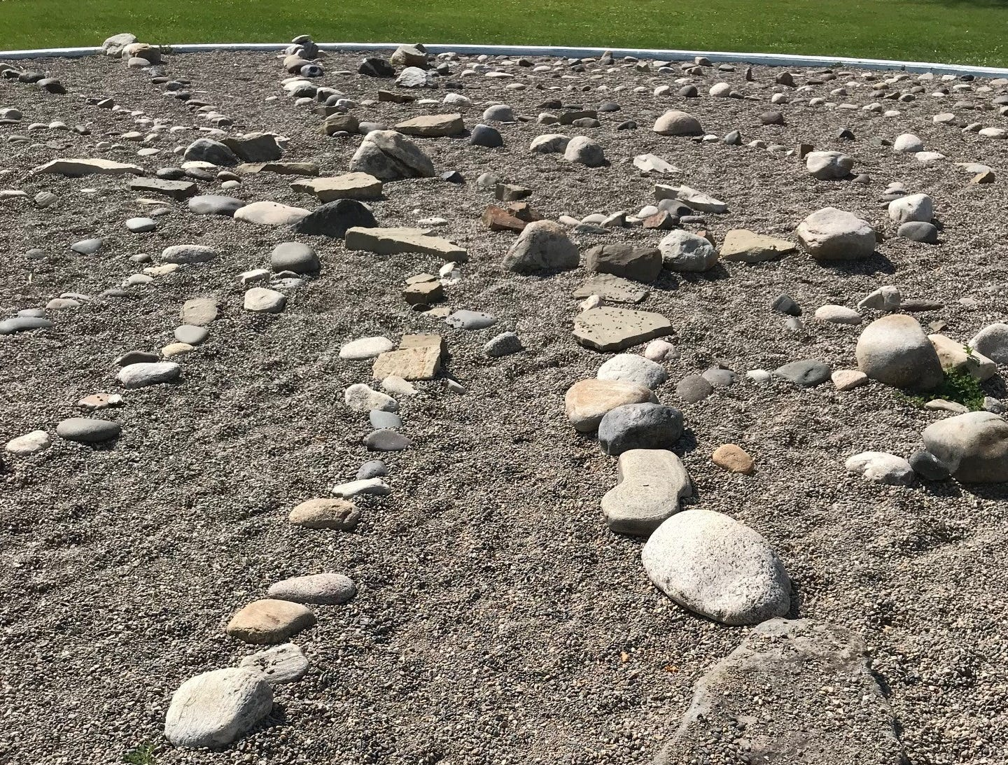 Livingston has a community LabyrDial (labyrinth/sundial) in Sacajawea Park. Visitors can find out the time of day by observing where their shadows fall on marked rocks.