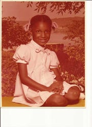 Stacey Abrams as a young girl