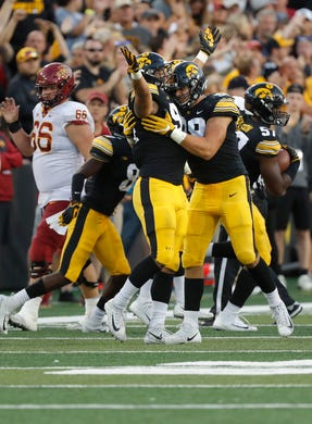 Iowa's A.J. Epenesa out to prove at NFL combine he's as ...