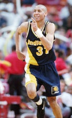 Reggie Miller was a pioneer in TV, one of the first NBA superstars to have his own television show.