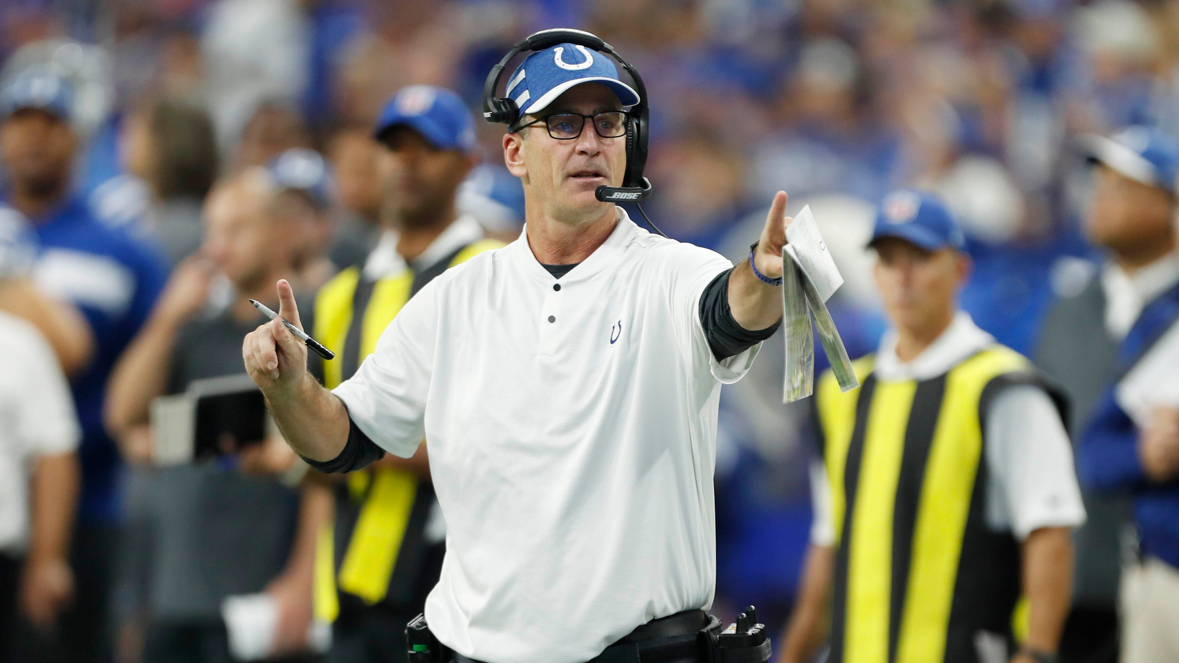 Indianapolis Colts play the Philadelphia Eagles in NFL Week 3 action