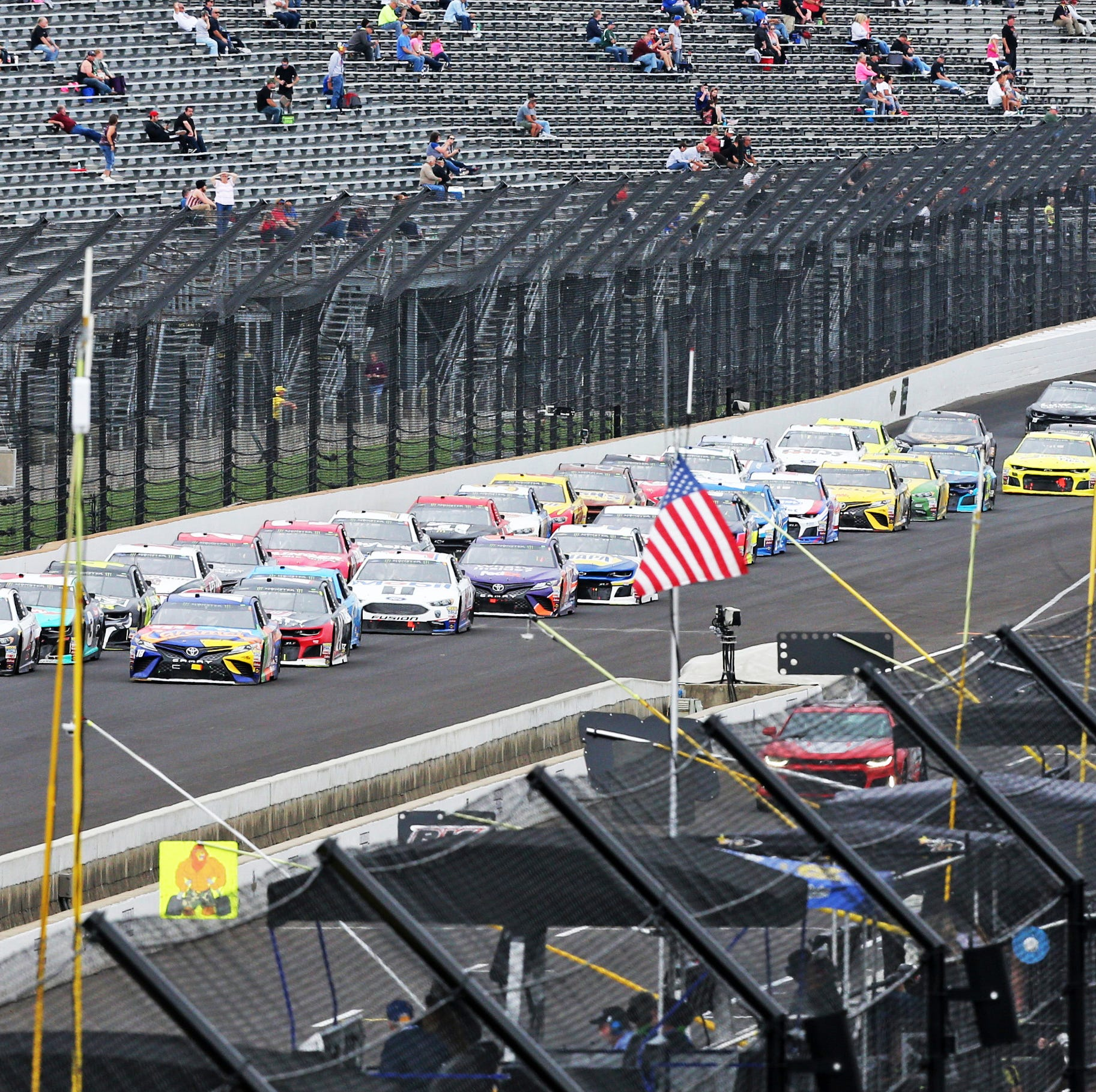 Brickyard 400 is on the move ... again
