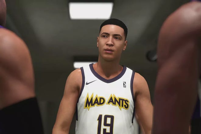 Fort Wayne Mad Ants  player A.I. kicks off the My Career portion of the new NBA 2K19.