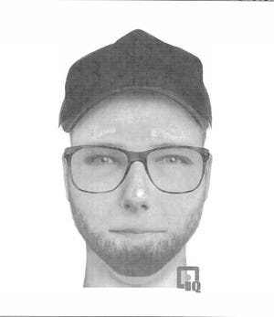 Composite sketch of suspect in Aug. 29 incident.