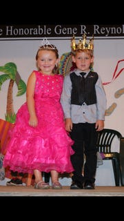 Spencer Picnic winners: Little Miss Spencer, Madilyn Percey; and Little Mr., Sylas Silvernail.