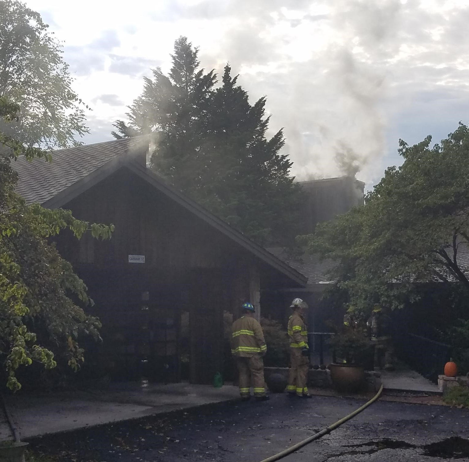 Rural/Metro: Fire guts Farragut home, lightning may be to blame