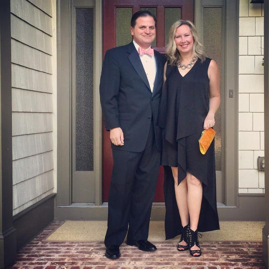 Jennifer and her husband, Paul, met in high school.