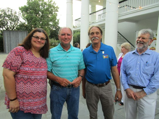 Shelly Istre, Steve Schexnaider, Barry Ancelet and Randall LaBry
