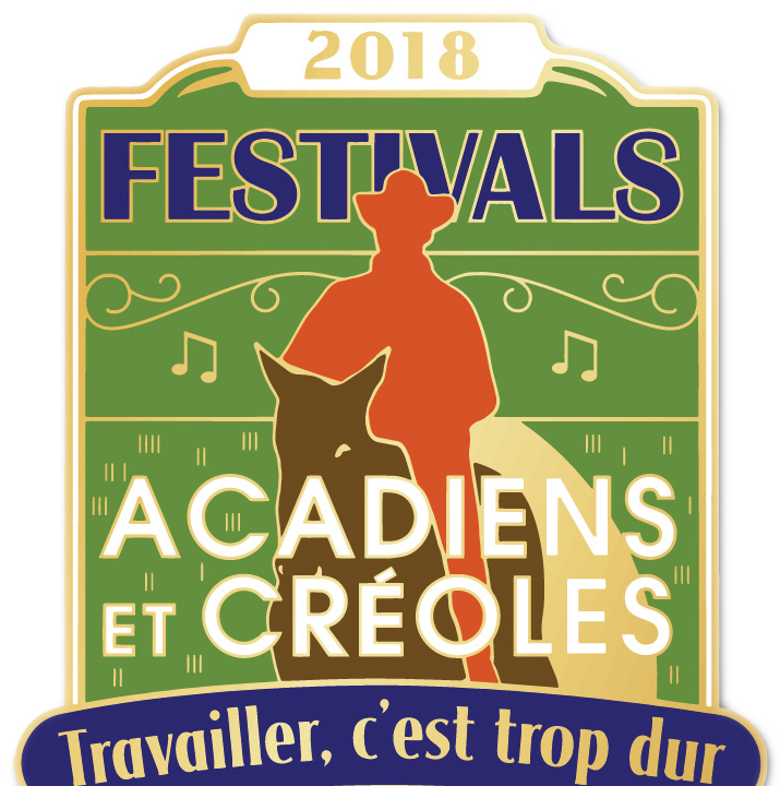 See the Festival Acadiens pin and poster