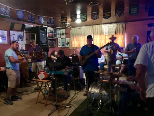Visit the famous Fred's Lounge in downtown Mamou on Saturday mornings for a live jam session.