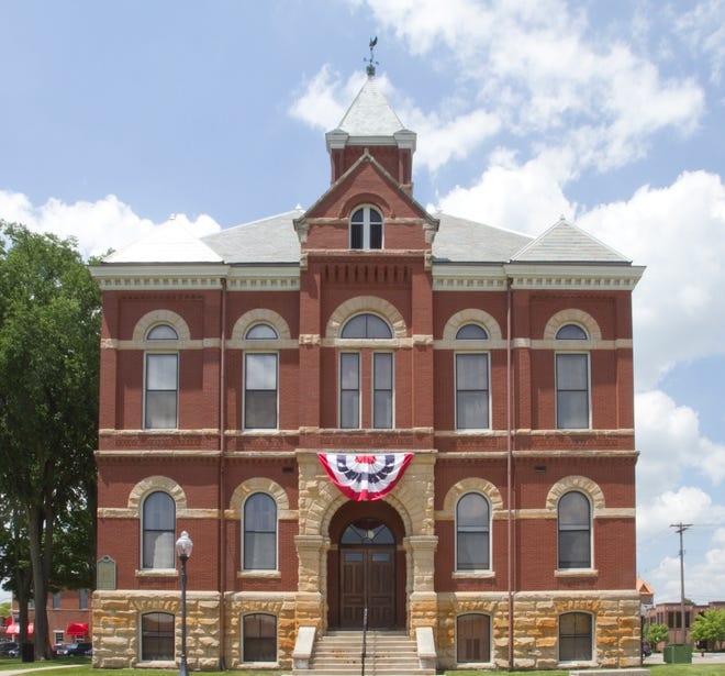 The Livingston County Register of Deeds, housed in the Livingston County Courthouse, shown Monday, June 9, 2014, is alerting residents to an IRS scam.
