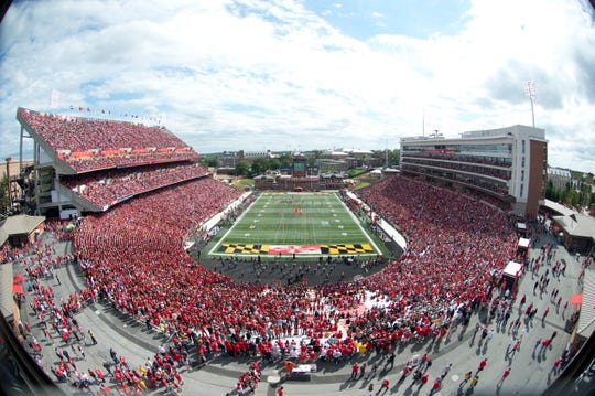 Maryland Stadium, which opened in 1950, currently seats 51,802.