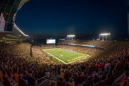TCF Bank Stadium opened in 2009, giving Minnesota it's own outdoor stadium after years of sharing the Metrodome with the NFL's Vikings and baseball's Twins.