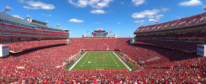 Memorial Stadium in Lincoln, Nebraska has the third-largest population in the state on game days.