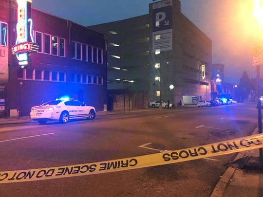 Five people were injured after an early morning shooting at Purple Haze in Downtown Memphis.
