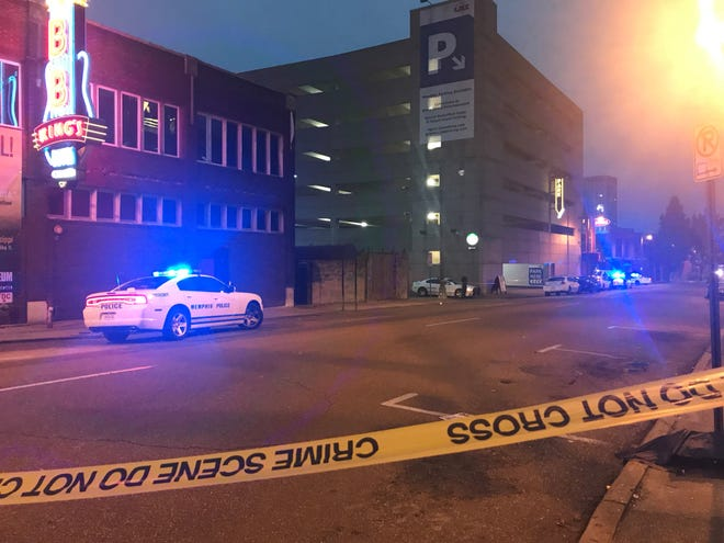Nine people were injured after an early morning shooting at Purple Haze in Downtown Memphis.