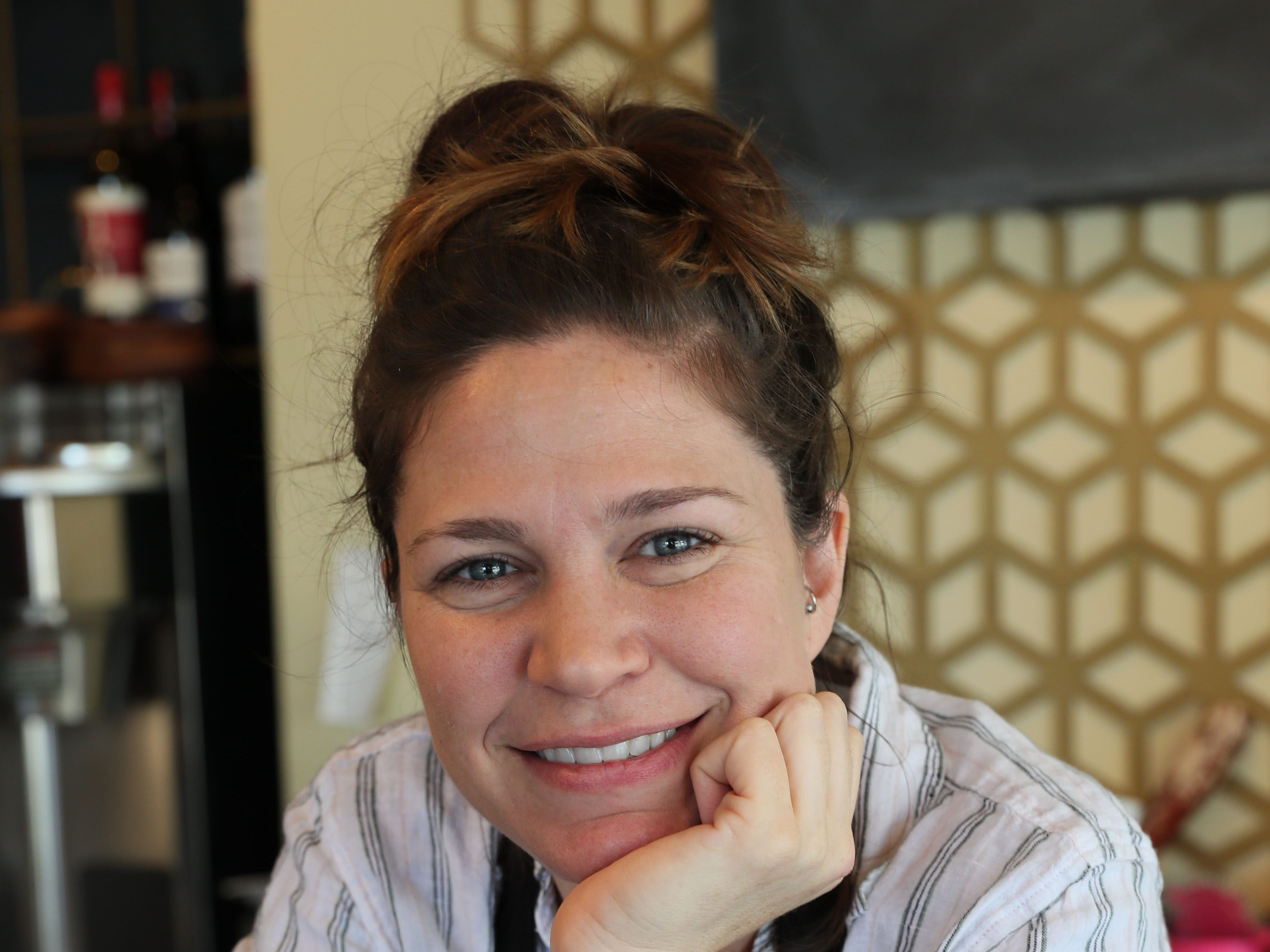 Owner Melanie Manuel has created a celestial atmospher at Celesta, a vegan restaurant at 1978 N. Farwell in Milwaukee.