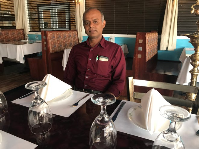 Mantra Indian Bistro owner Govindarajan Navaneetham is originally from southern India but traces his path to Oconomowoc through Miami and New York as well.