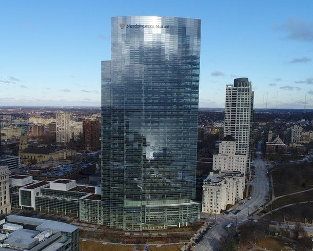 The new Northwestern Mutual Tower and Commons, 805 E. Mason St.,  is the state's second-tallest building at 550 feet and 32 stories. From 10 a.m. to 5 p.m. Saturday and Sunday, visitors will be able to tour sections of the building including the top of the tower.