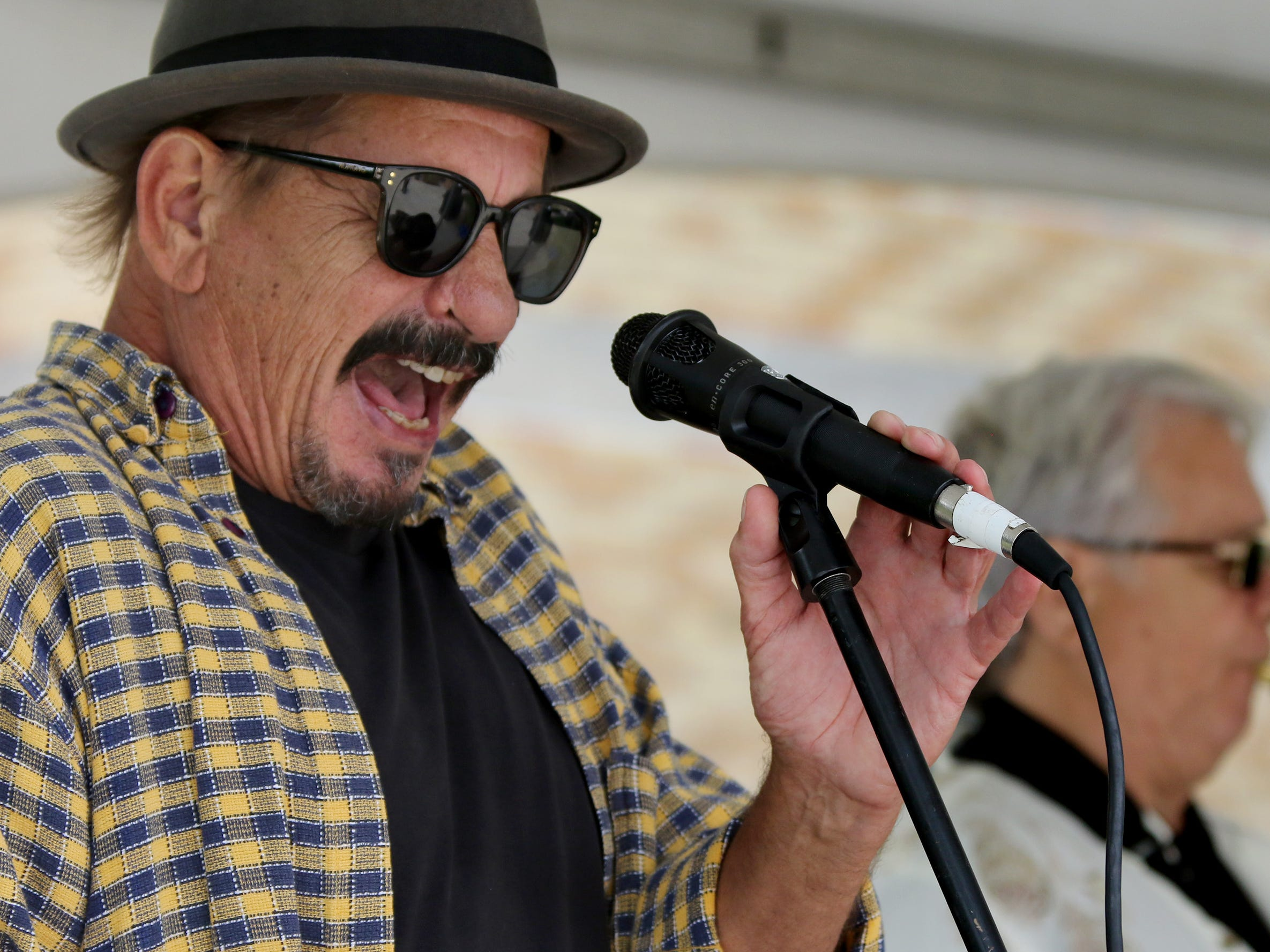 Danny Miller performs with his namesake band during the sixth annual Taste of Mequon in the vicinity of City Hall and on Cedarburg Road on Sept. 8.