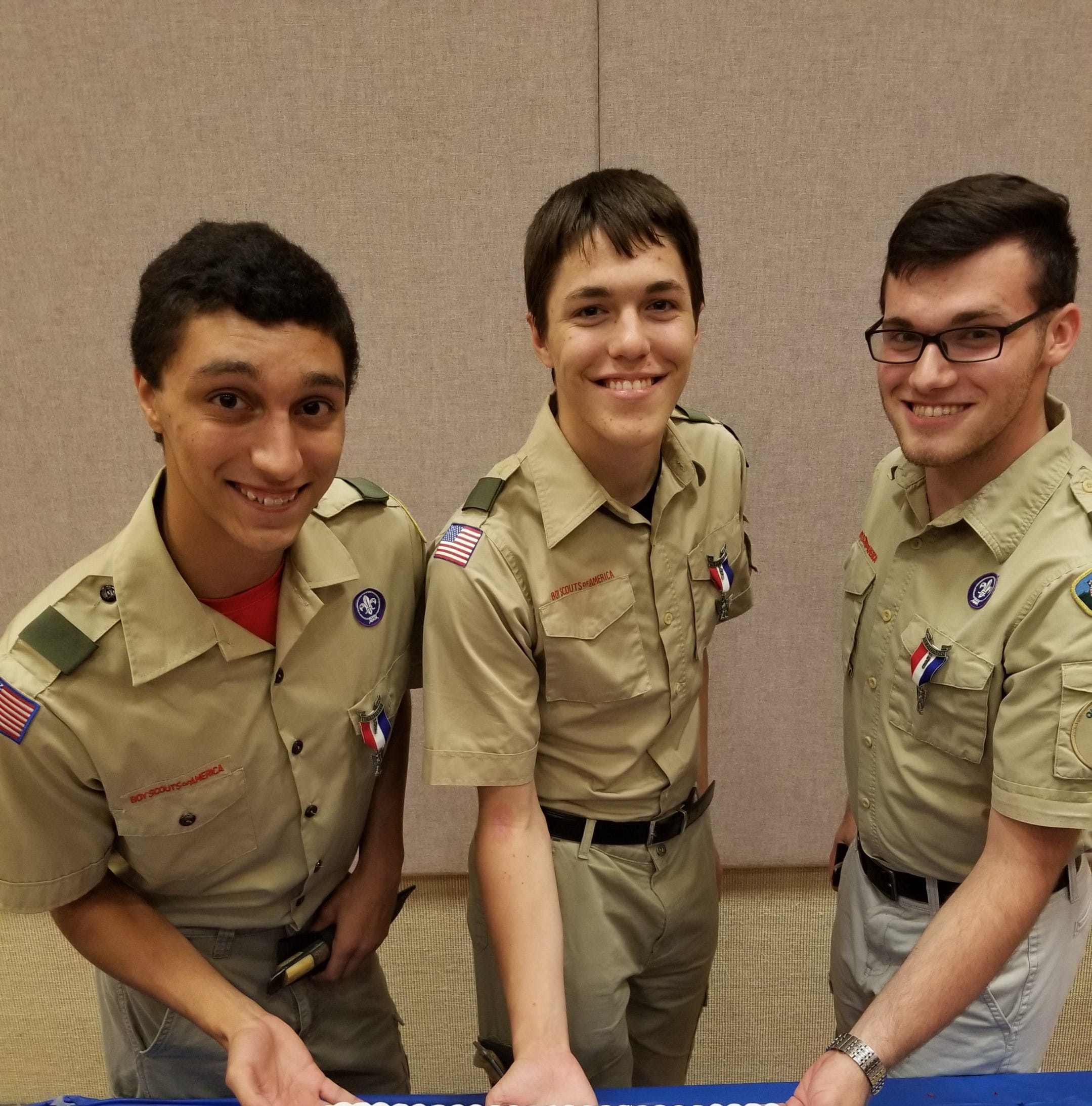 Friends and Neighbors: Three scouts from same troop achieve rank of Eagle Scout