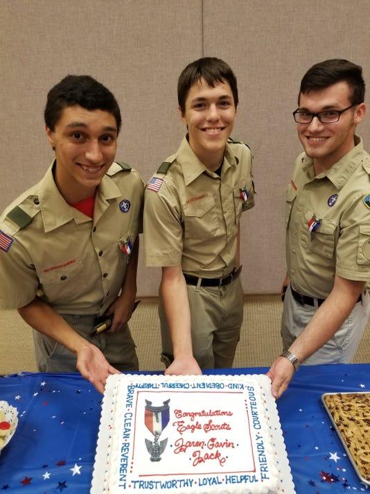 Eagle Scouts Photo