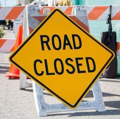Portions of U.S. 40 near downtown Richmond to close for construction Friday