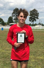Stewarts Creek's Andrew Nau finished first at the Wilson County Invitational Saturday.