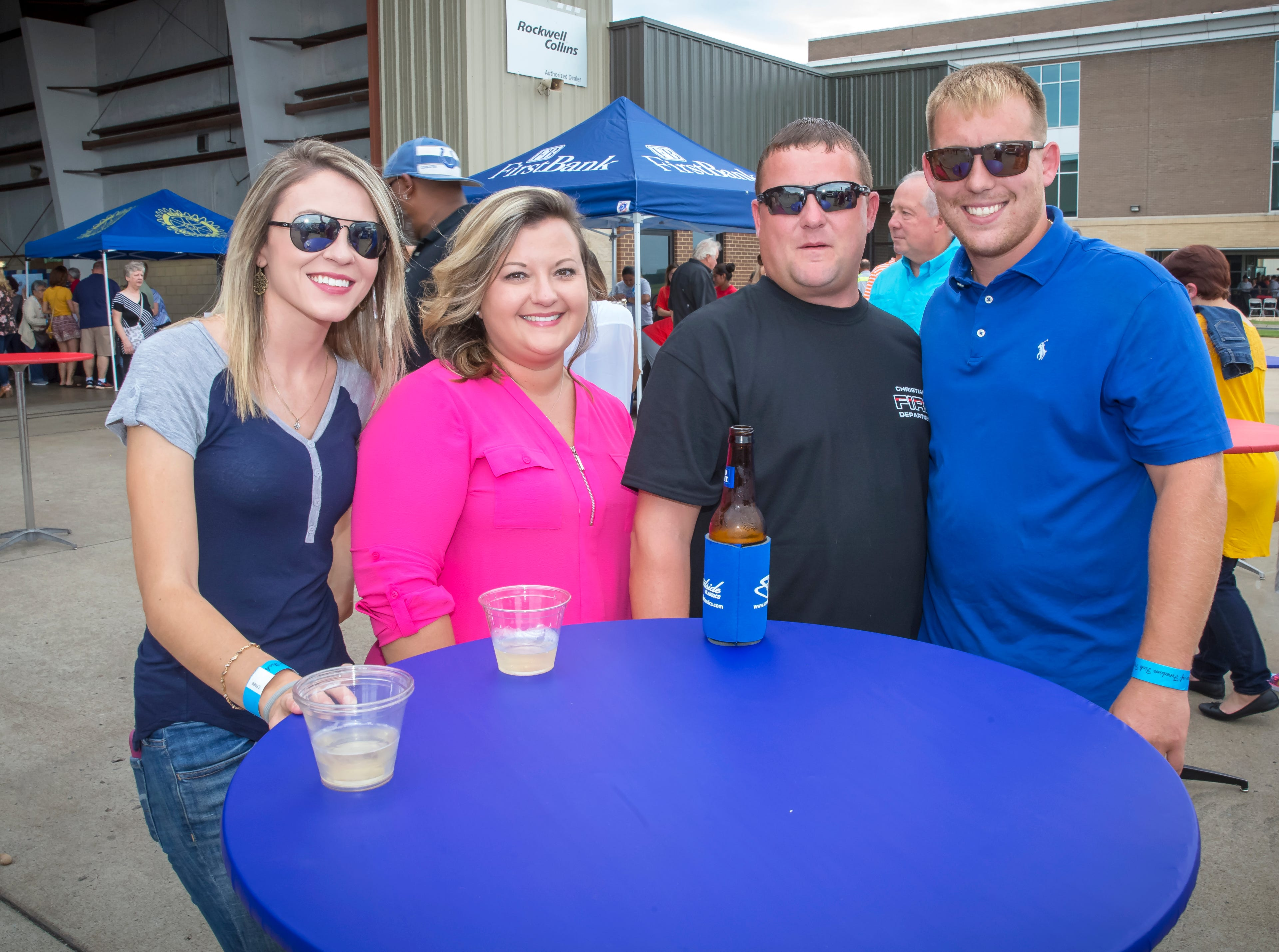 The annual Wings of Freedom Fish Fry hosted by Smyrna Rotary Club was held Saturday, Sept. 8, 2018 at the Corporate Flight Management Hangar at Smyrna Airport.