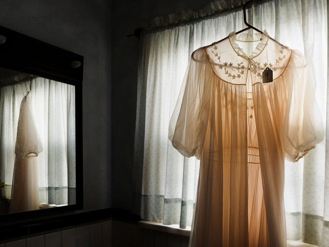 """Norm Diamond, """"Wedding Night Negligee,"""" 2015, edition of 12, archival ink on Hahnemule photo rag pearl paper, 15""""x20."""""""