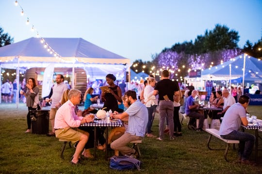 The 2018 Music City Food + Wine Festival is Sept. 14-16 with demos, tasting sessions, live music and mingling with the city's best chefs.