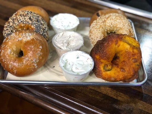Assorted Bagels And Spread Options Amanda Virgillito