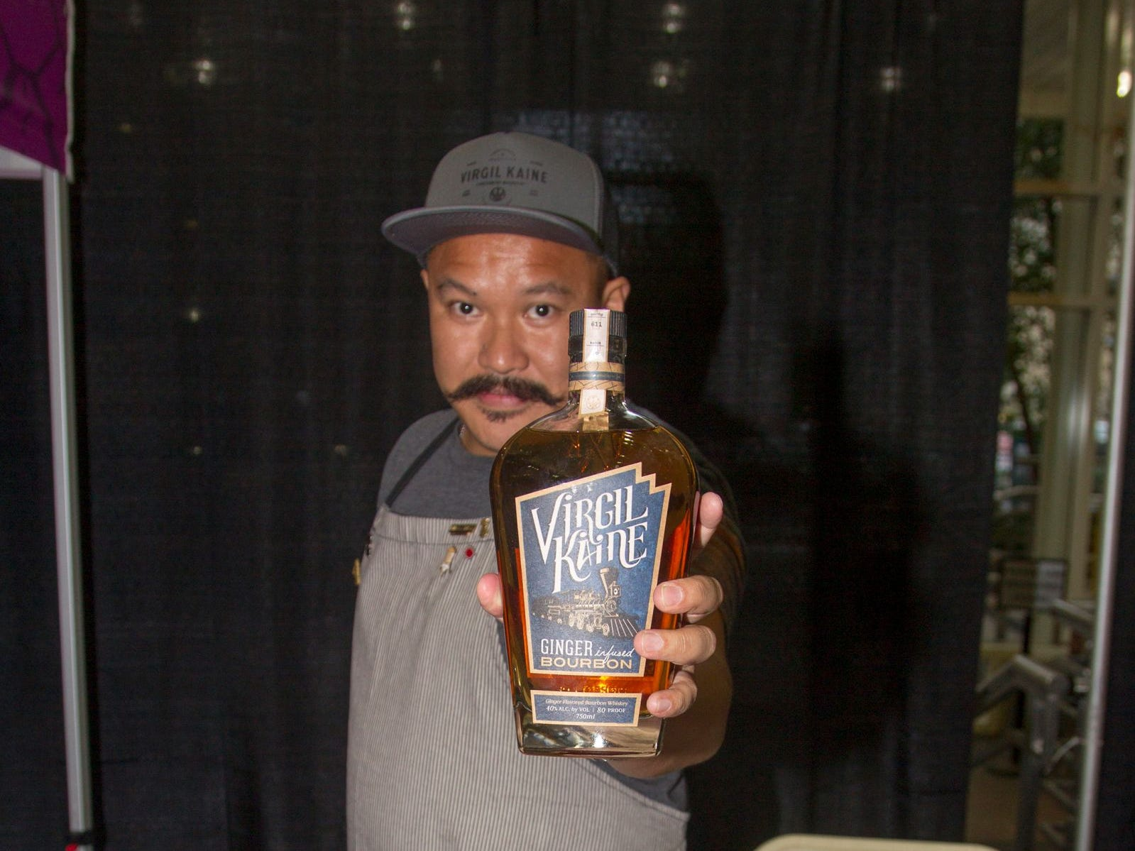 Virgil Kaine - Red Dacquel. Jersey City Craft Distillery Fest at the Harborside Atrium featured more than 100 styles of spirits. Guests had the chance to taste craft-distilled spirits from moonshine, rum, cognac, whiskey, vodka, gin, tequila and more. 09/08/2018