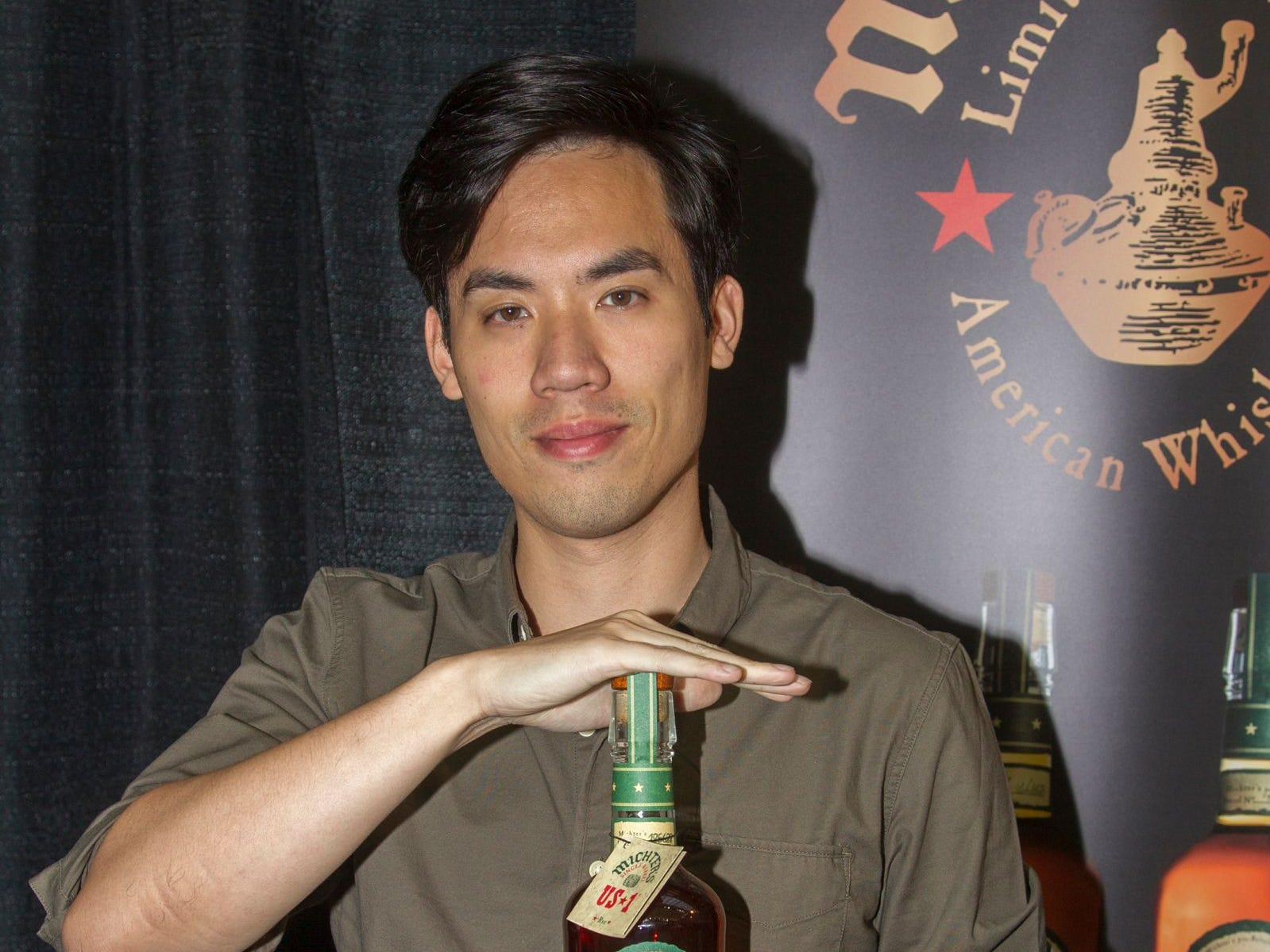Michter's - Justin Ng. Jersey City Craft Distillery Fest at the Harborside Atrium featured more than 100 styles of spirits. Guests had the chance to taste craft-distilled spirits from moonshine, rum, cognac, whiskey, vodka, gin, tequila and more. 09/08/2018
