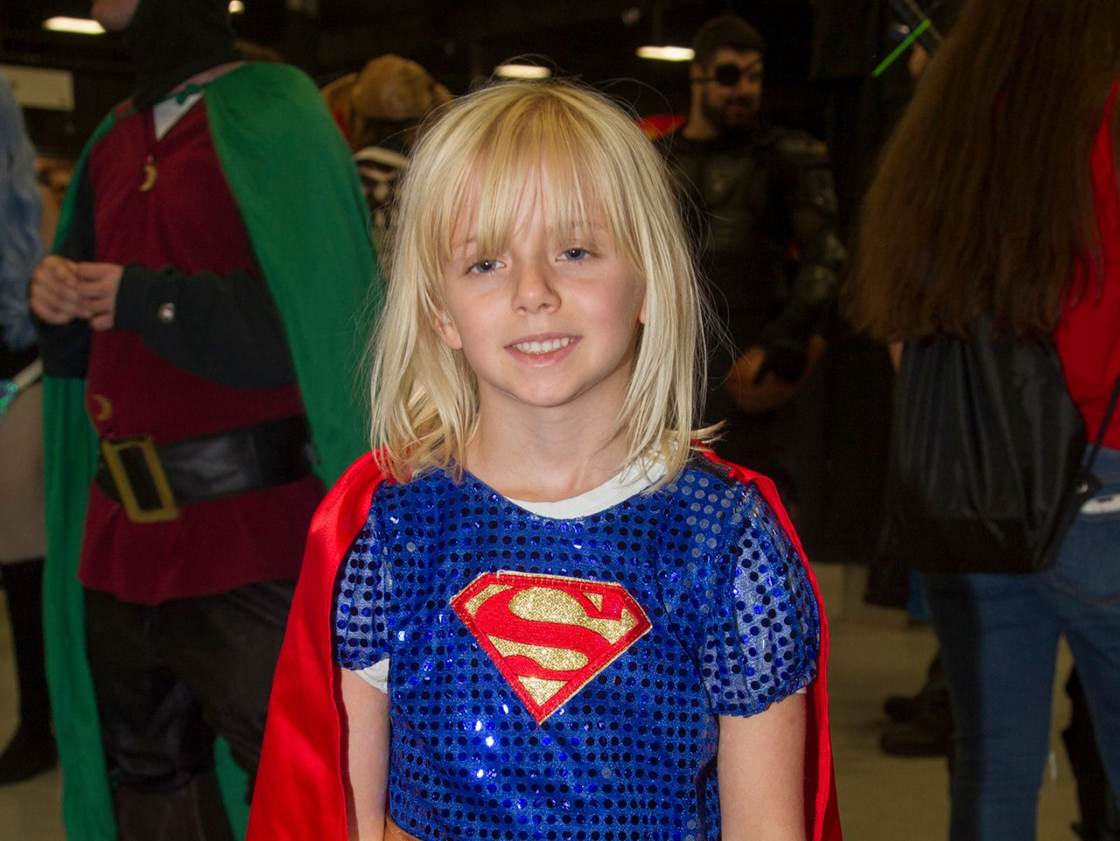 Kelly as Supergirl. NJ Convention and Exp Center host the 2018 Hero's and Villians Expo.  09/09/2018