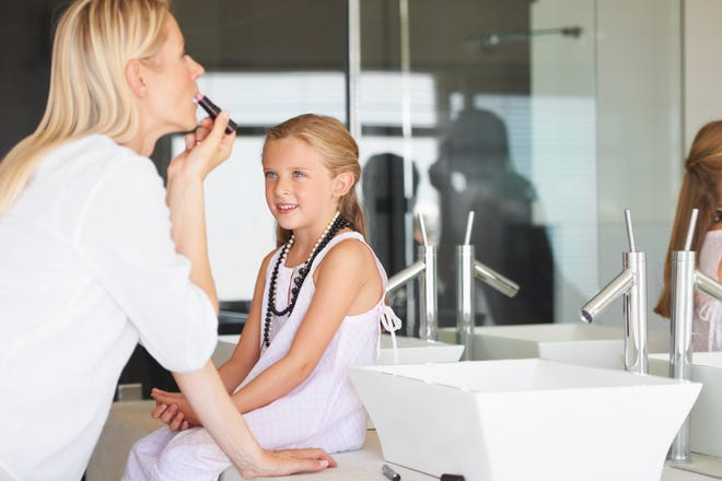 "Dr. Tamar Kahane, a child and adolescent psychologist, said requesting makeup may not necessarily reflect a self-esteem issue. ""It could mean I want to look like or be like Mommy,"" she said."