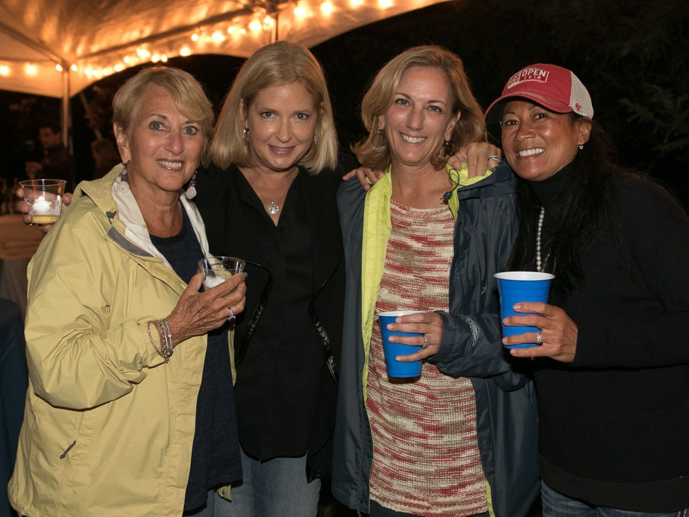 "Diane Gess, Robin Morsch, Nancy Scanlon, Cyndy Sagullo. Pam Chmiel, The Tres Amigos Paella Company (David Colin, Joe Scanlon and Jeff Saladucha), The Jims (Jim Gibney and Jim Toscano), George Nikias, Ron Oscher and Neil Murphy held Ridgewood Cooks for a Cause to benefit ""Cookies For Kids Cancer"" (Childhood Cancer Research) and YCS (Youth Consultaion Services) charities. 09/08/2018"