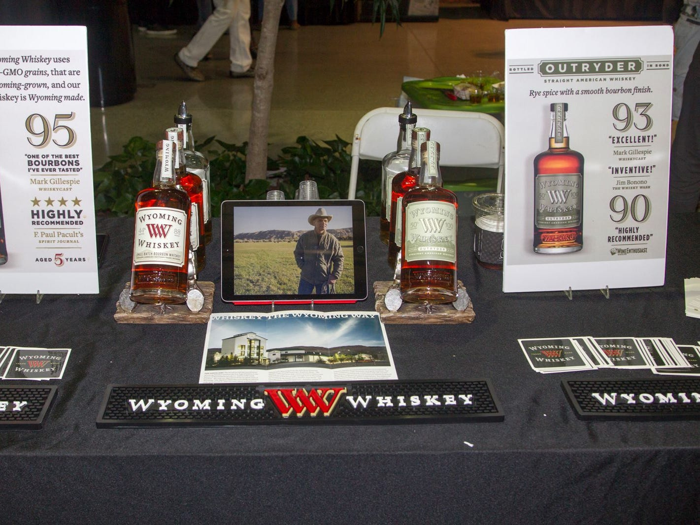 Jersey City Craft Distillery Fest at the Harborside Atrium featured more than 100 styles of spirits. Guests had the chance to taste craft-distilled spirits from moonshine, rum, cognac, whiskey, vodka, gin, tequila and more. 09/08/2018
