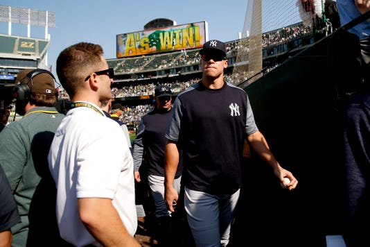 Mlb New York Yankees At Oakland Athletics