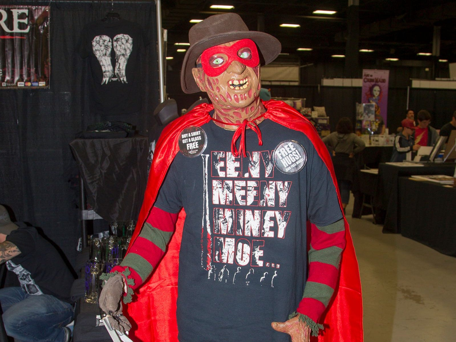 Freddy. The 2018 Heroes and Villains Fan Fest took place at the New Jersey Convention & Expo Center. 09/09/2018