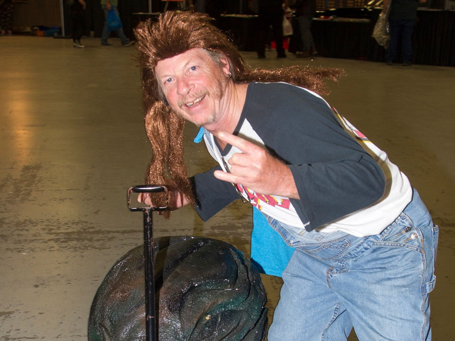 Dave as Joe Dirt. The 2018 Heroes and Villains Fan Fest took place at the New Jersey Convention & Expo Center. 09/09/2018