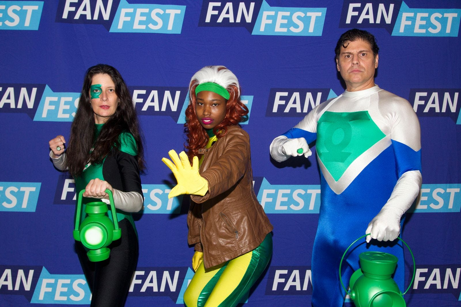Shelly, Aaliyah, Justin. The 2018 Heroes and Villains Fan Fest took place at the New Jersey Convention & Expo Center. 09/09/2018
