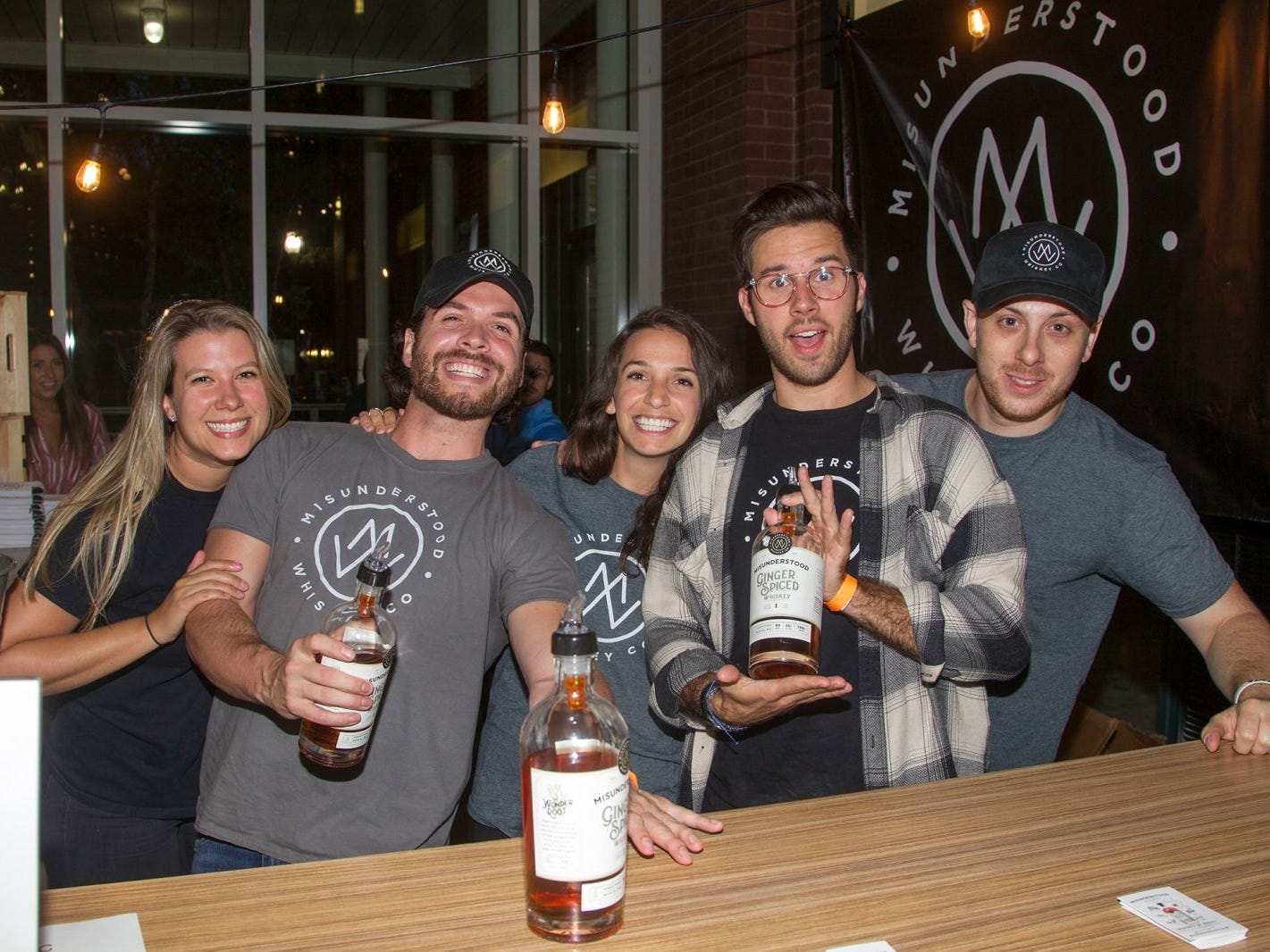 Misunderstood Whiskey. Jersey City Craft Distillery Fest at the Harborside Atrium featured more than 100 styles of spirits. Guests had the chance to taste craft-distilled spirits from moonshine, rum, cognac, whiskey, vodka, gin, tequila and more. 09/08/2018