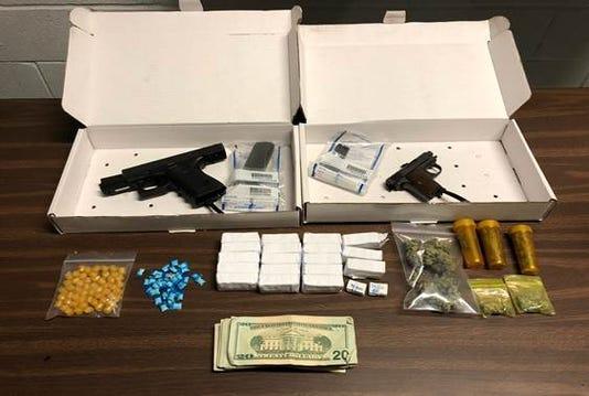 Hamilton Ave Drug Bust