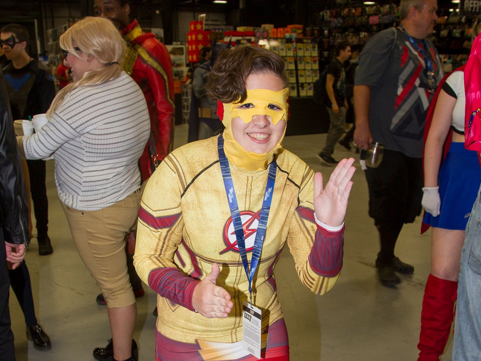 The Flash. The 2018 Heroes and Villains Fan Fest took place at the New Jersey Convention & Expo Center. 09/09/2018