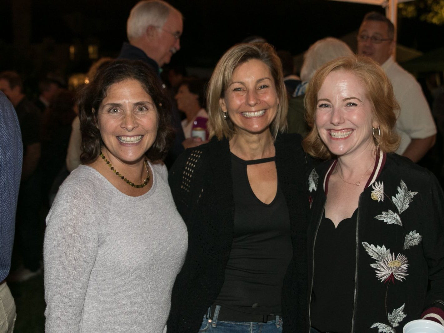 "Dena Bronowich, Alyssa Becker, Nancy Koontz. Pam Chmiel, The Tres Amigos Paella Company (David Colin, Joe Scanlon and Jeff Saladucha), The Jims (Jim Gibney and Jim Toscano), George Nikias, Ron Oscher and Neil Murphy held Ridgewood Cooks for a Cause to benefit ""Cookies For Kids Cancer"" (Childhood Cancer Research) and YCS (Youth Consultaion Services) charities. 09/08/2018"